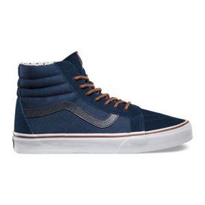 Vans T&S Sk8-Hi Reissue Sneaker in Dress Blues